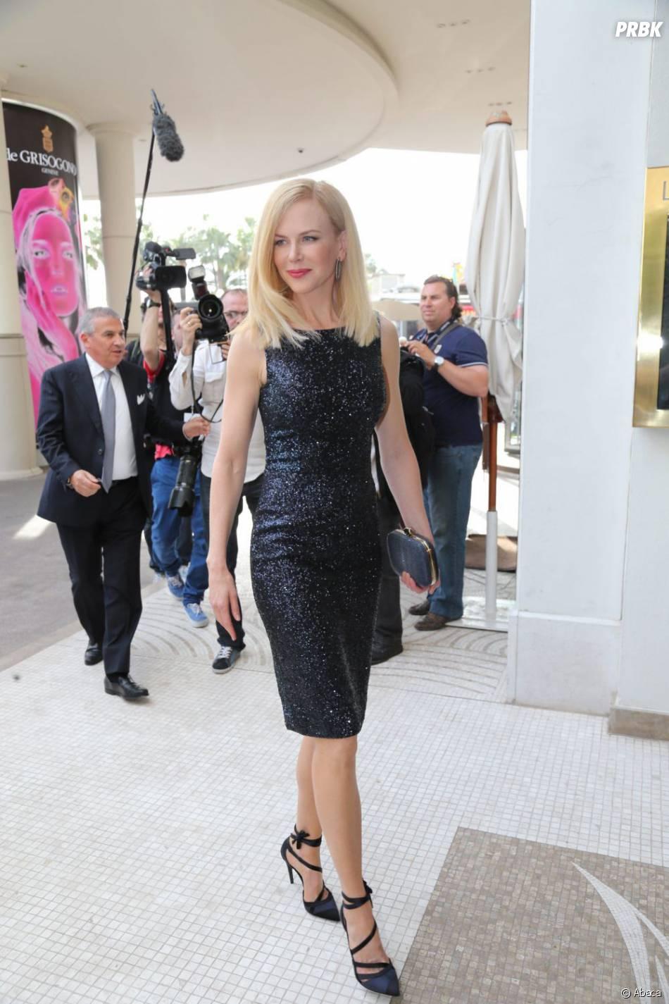 Nicole Kidman à la conférence de presse du Fesitval de Cannes 2013