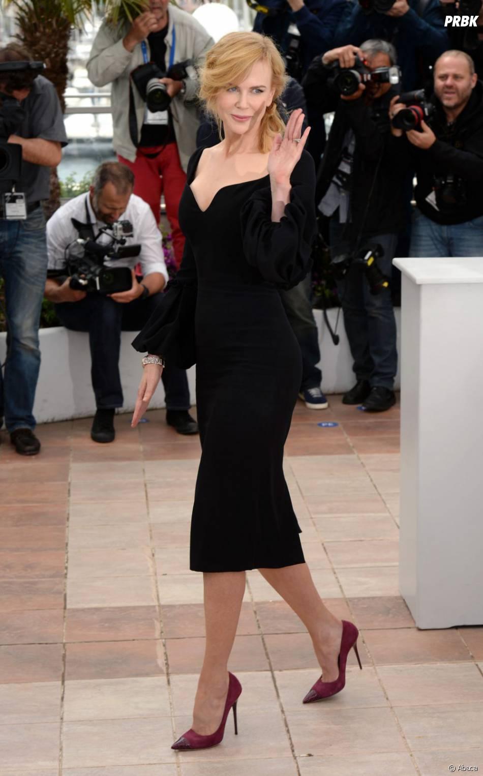 Nicole Kidman très classe sur la Croisette