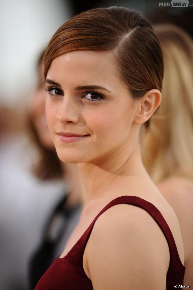 Emma Watson naturelle au Festival de Cannes 2013 pour le photocalll de The Bling Ring