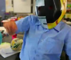 Wee Waa en pleine folie Daft Punk