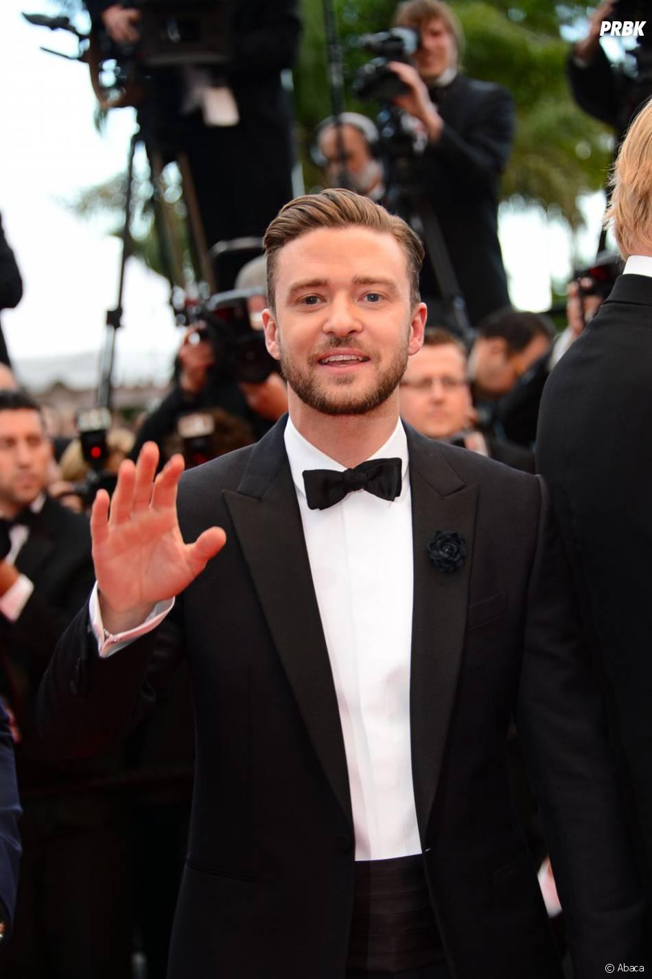 Justin Timberlake et Jessica Biel pour la montée des marches du Festival de Cannes le 19 mai 2013