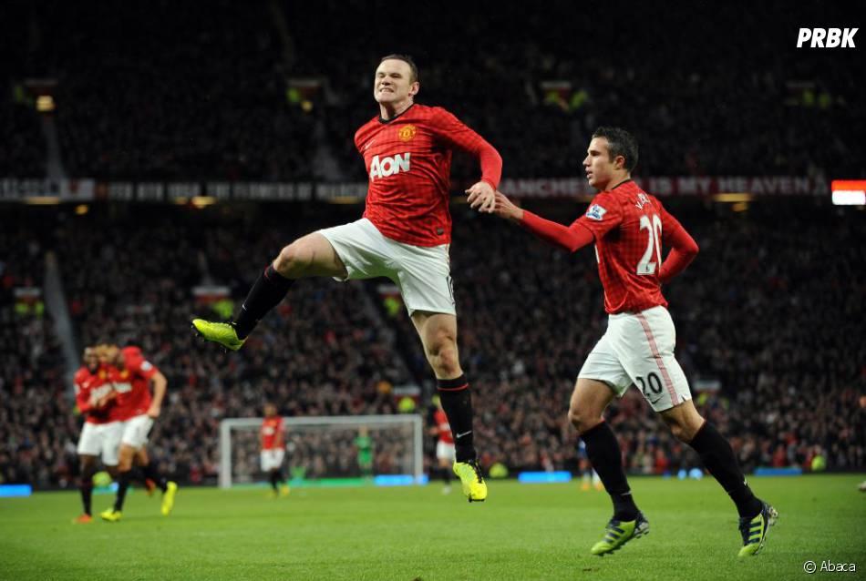Wayne Rooney est fou de joie