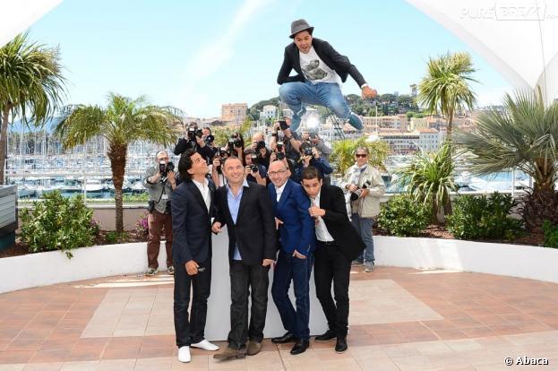 Jamel Debbouze a mis le feu sur la Croisette, mardi 21 mai 2013 à Cannes