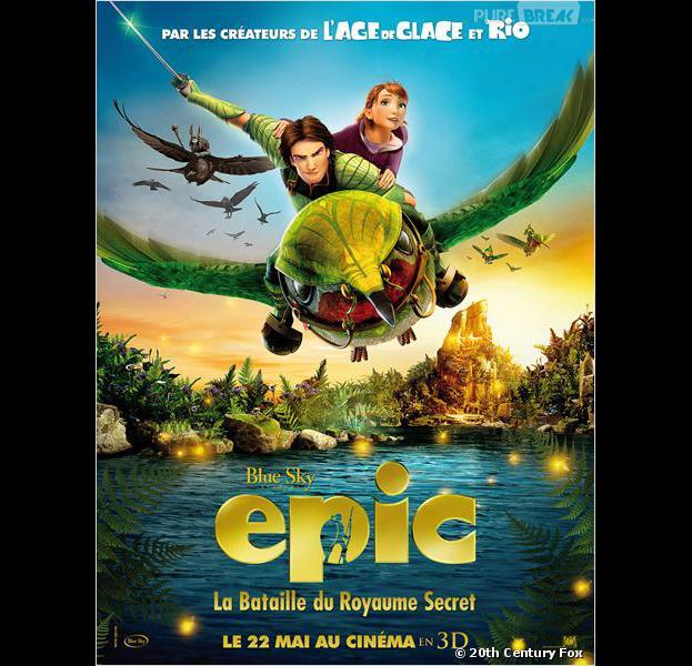 Epic est actuellement au cinéma