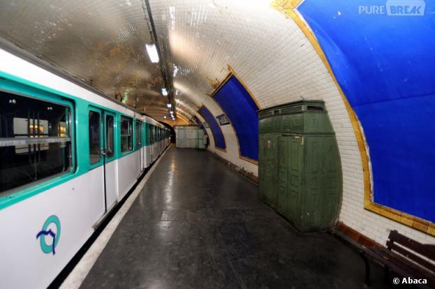 Un jeune homme s'est tué en voulant monter sur le toit du métro parisien