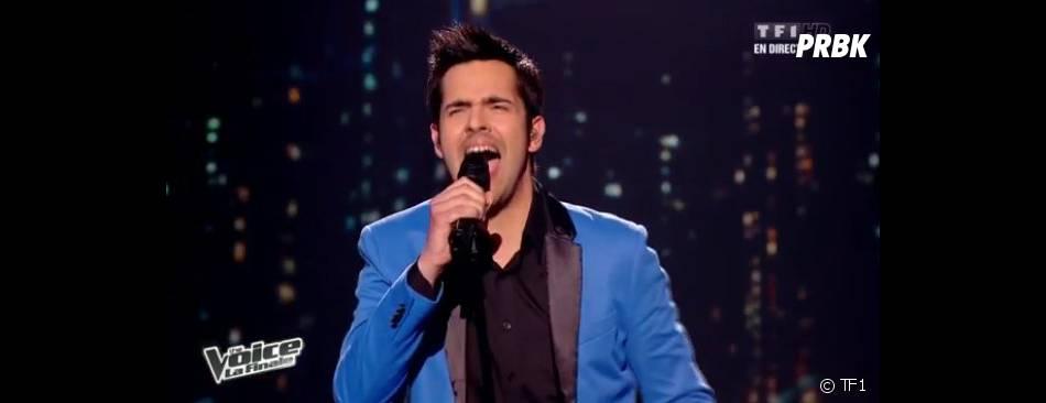 Yoann Fréget a enchaîné les belles prestations lors de la finale de The Voice 2.