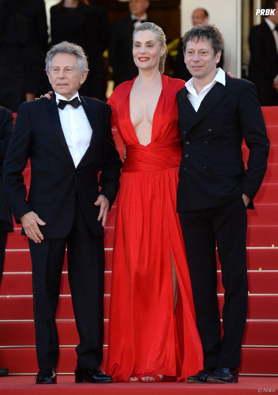 La Vénus à la Fourrure, de Roman Polanski avec Emmanuelle Seigner et Mathieu Amalric, non récompensé à Cannes 2013