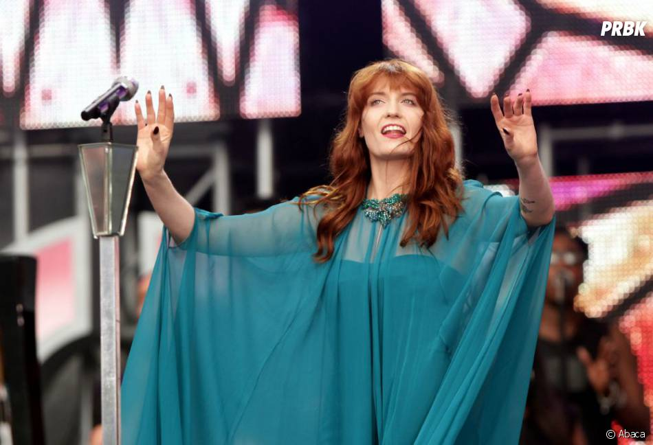 Florence Welsh au concert Sound for Change