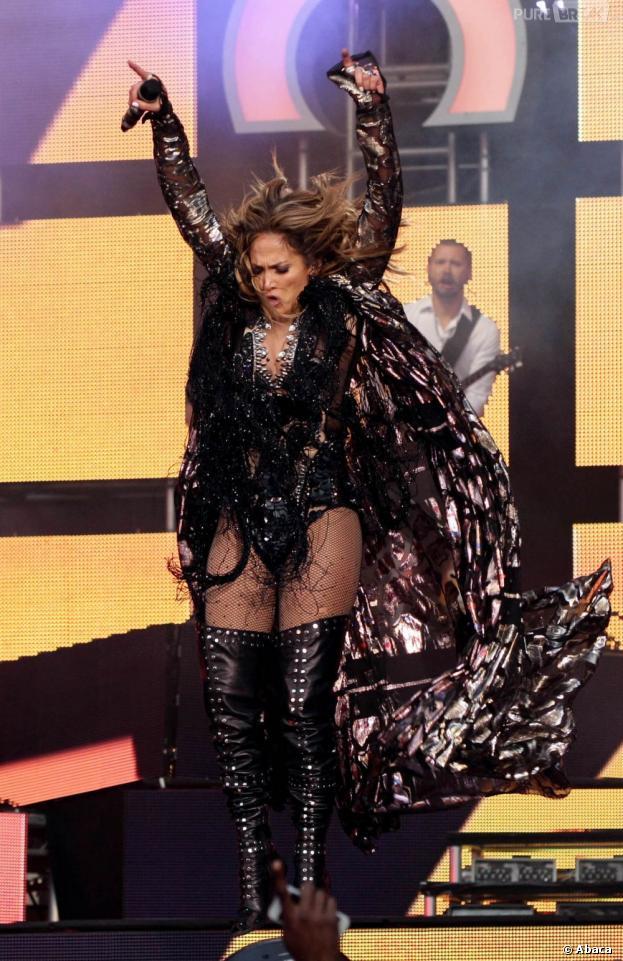 Jennifer Lopez à fond au concert Sound for Change