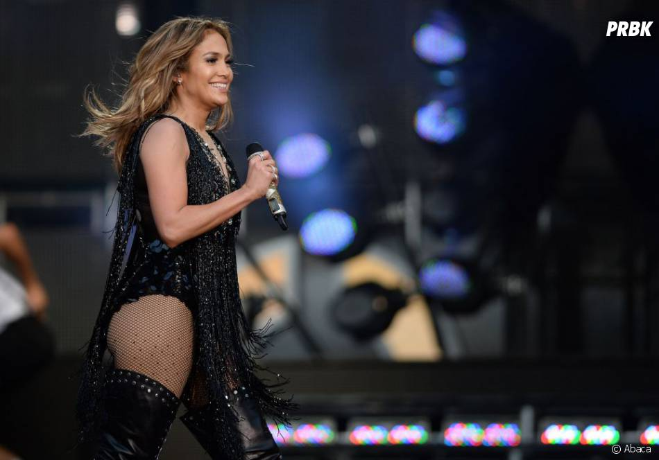 Jennifer Lopez avait le sourire au concert Sound for Change