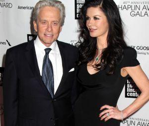 Michael Douglas et sa femme Catherine Zeta Jones