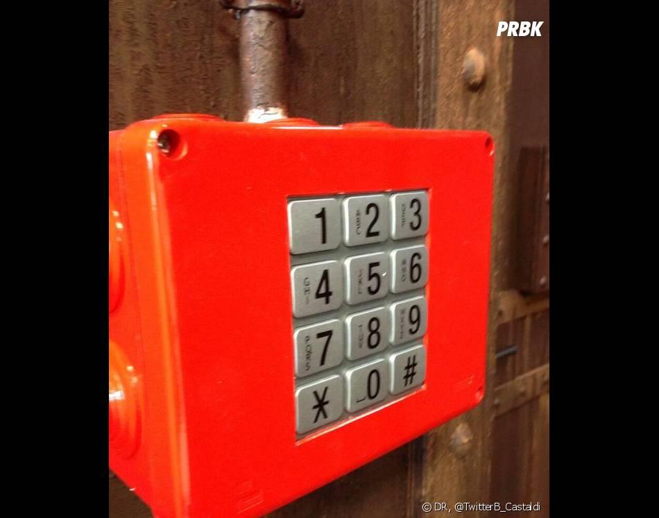 Les boutons de l'ascenseur de Secret Story 7 ?