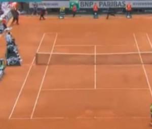 Un streaker perturbe la finale de Roland Garros 2013