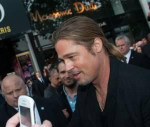 World War Z : Brad Pitt était à Paris pour l'avant-première
