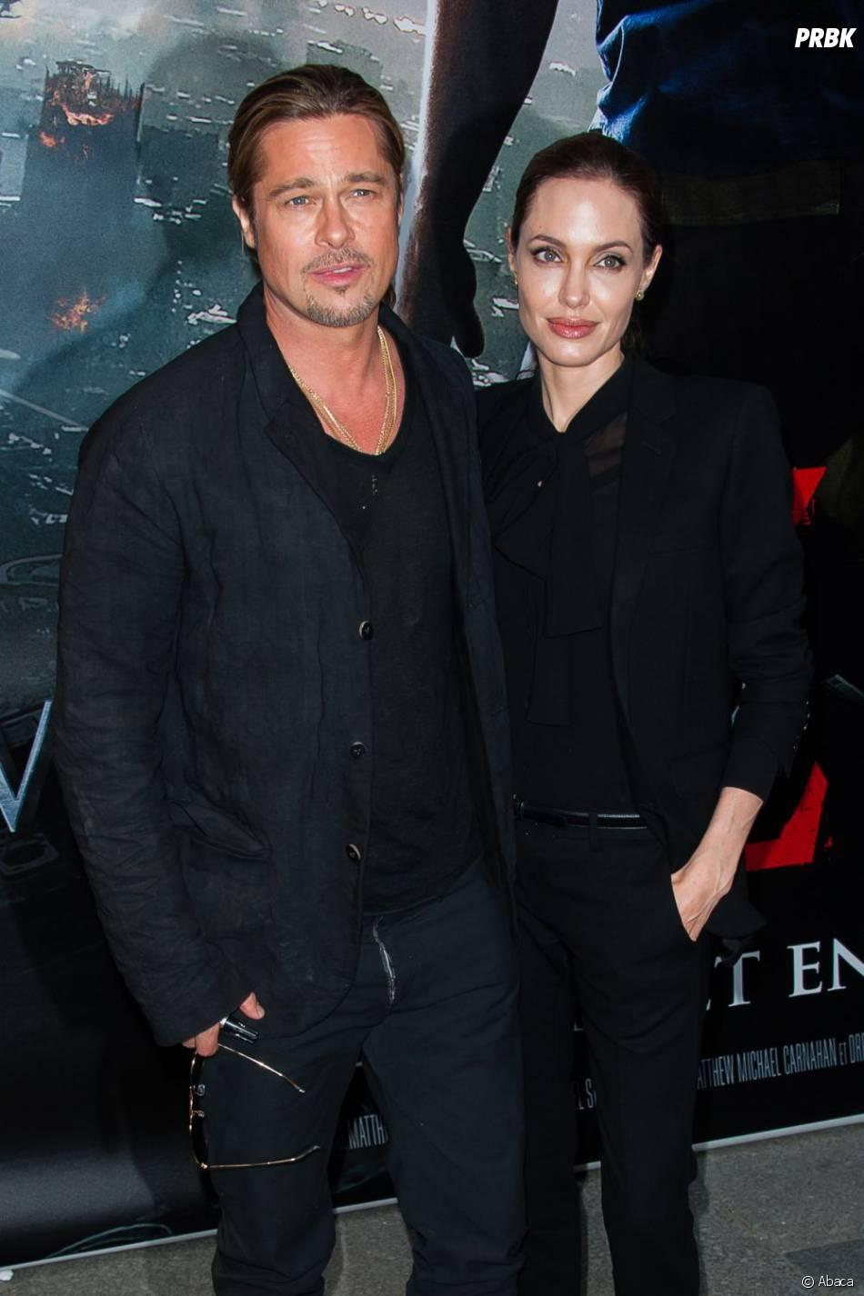World War Z : Brad Pitt et Angelina Jolie font la promo du film à Paris