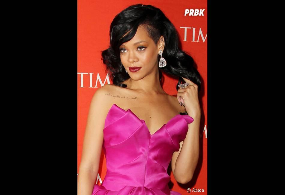 Rihanna souhaite beaucoup de bonheur à Chris Brown