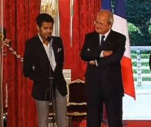 """Jamel Debbouze qualifie Nicolas Sarkozy de """"Joe Dalton"""""""