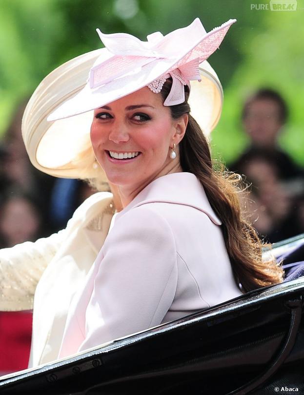 """Kate Middleton, reine de l'élégance du """"Trooping the Colour"""" 2013"""