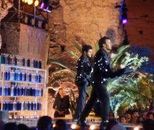 Jamel Debouzze et Michaël Youn parodient les Daft Punk au Marrakech du Rire 2013