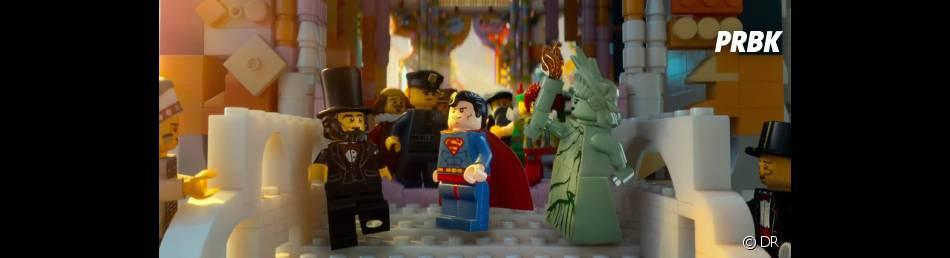 Lego, le film : Superman va sauver le monde des legos