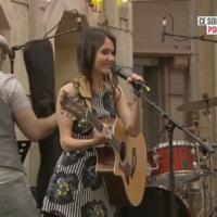Plus Belle La Vie : Joyce Jonathan participe à la fête de la musique dans un nouvel extrait