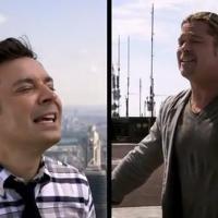 Brad Pitt roi de la coolitude : son Yodel complètement WTF avec Jimmy Fallon