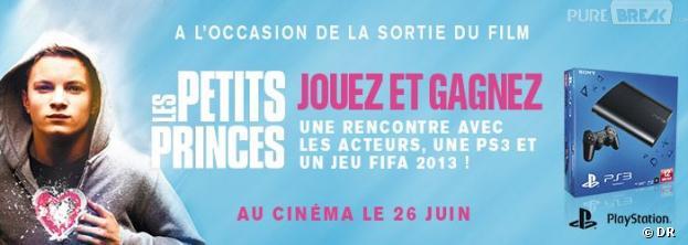 Les Petits Princes : affrontez les acteurs sur FIFA et repartez avec une PS3
