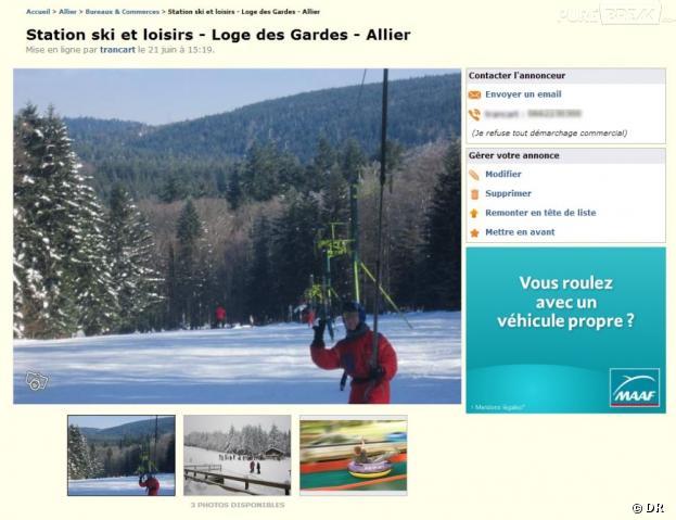 Le Bon Coin : devenez le propriétaire d'une station de ski