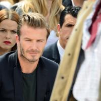 David Beckham de retour à Paris... pour le défilé Louis Vuitton