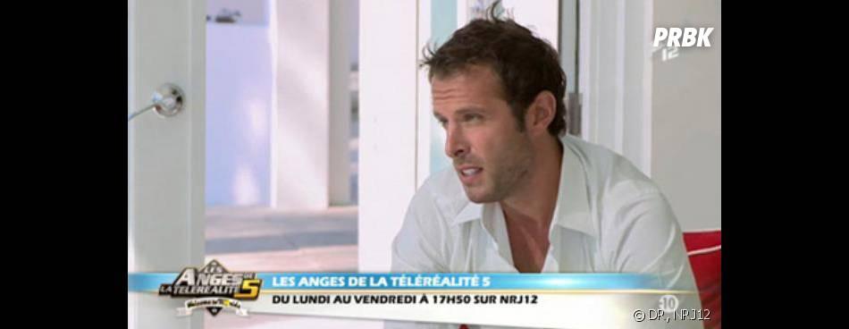 Les Anges 5 : Fabrice Sopoglian fait ses adieux dans la villa.