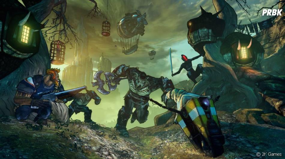 Tiny Tina's Assault on Dragon Keep, le dernier DLC de Borderlands 2, a une durée de vie de 10 heures