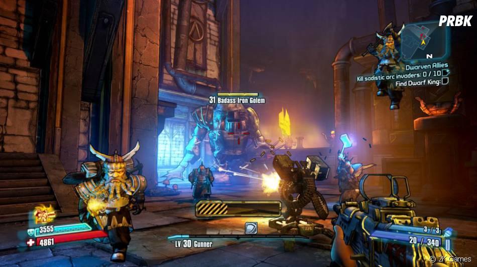 Le DLC Tiny Tina's Assault on Dragon Keep de Borderlands 2 est sorti le 25 juin 2013