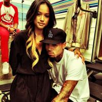 Chris Brown et Karrueche Tran en mode bisounours aux BET Awards