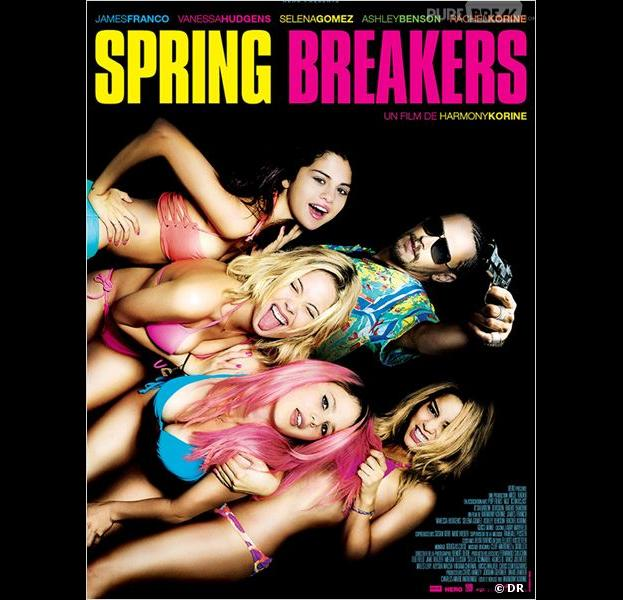 Spring Breakers, l'affiche