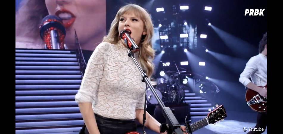 """""""Red"""" est le nom du dernier album de Taylor Swift"""