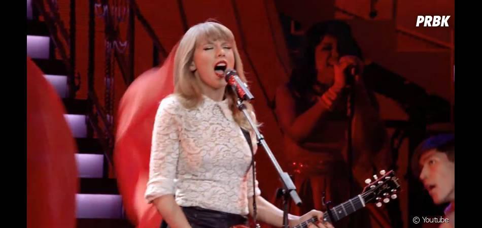 Red, le dernier single de Taylor Swift