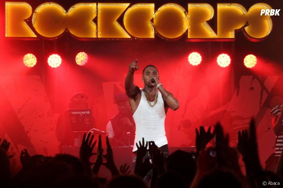Trey Songz, invité surprise du concert Orange RockCorps 2013