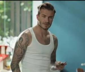 David Beckham dans un spot publicitaire pour la chaîne Sky Sports