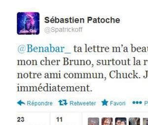 Sébastien Patoche se réconcilie avec Bénabar