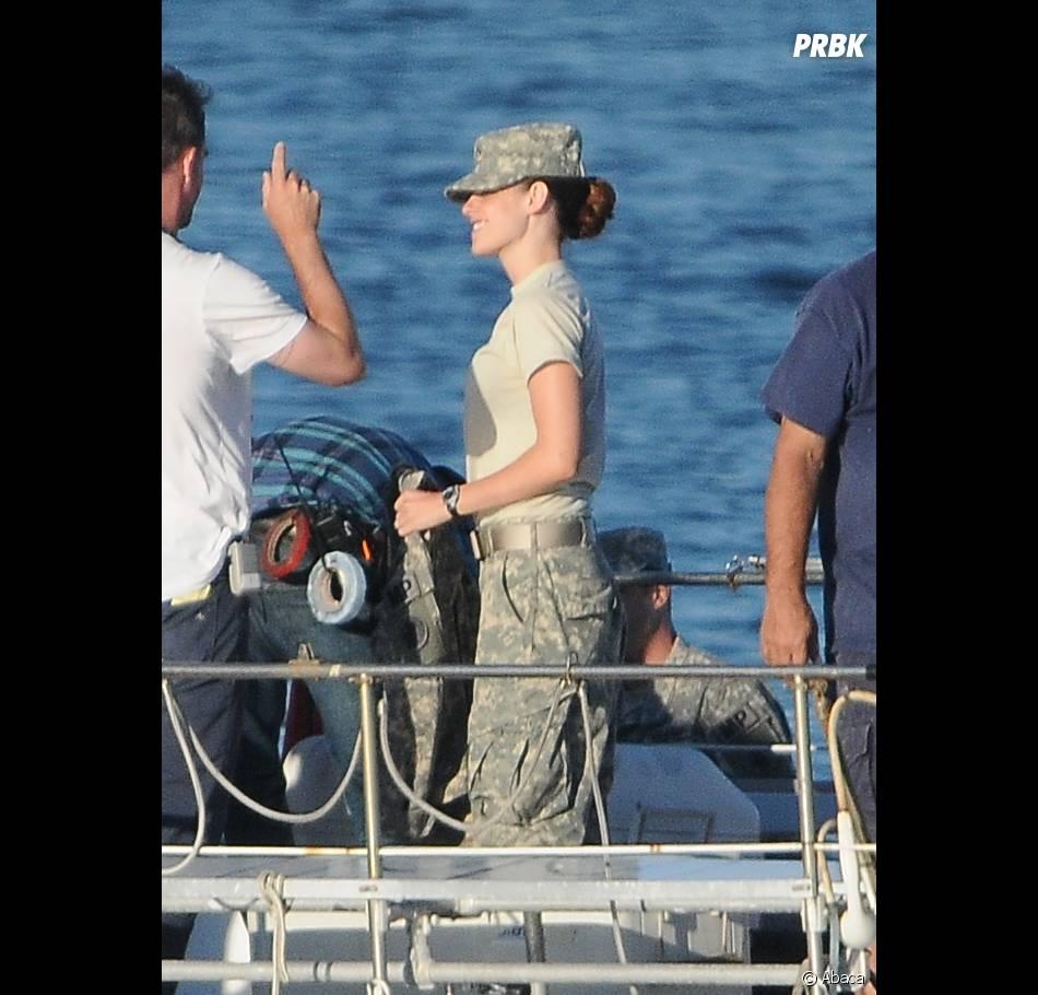 Kristen Stewart sera militaire dansCamp X-Ray