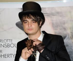 Pete Doherty à Paris le 28 août 2012