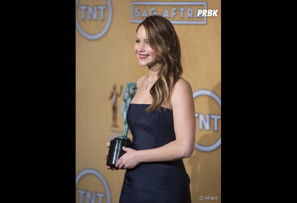 Jennifer Lawrence : son Oscar la met mal à l'aise