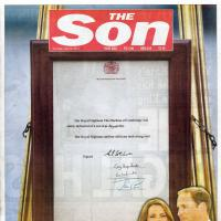 Kate Middleton : The Sun fête la naissance du bébé royal... en changeant de nom