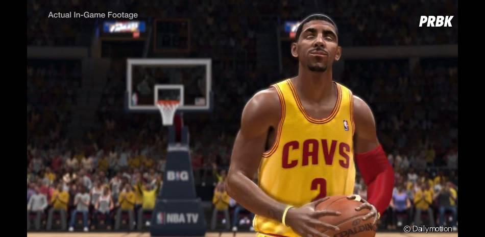 NBA Live 14 : Kyrie Irving, la mascotte du jeu