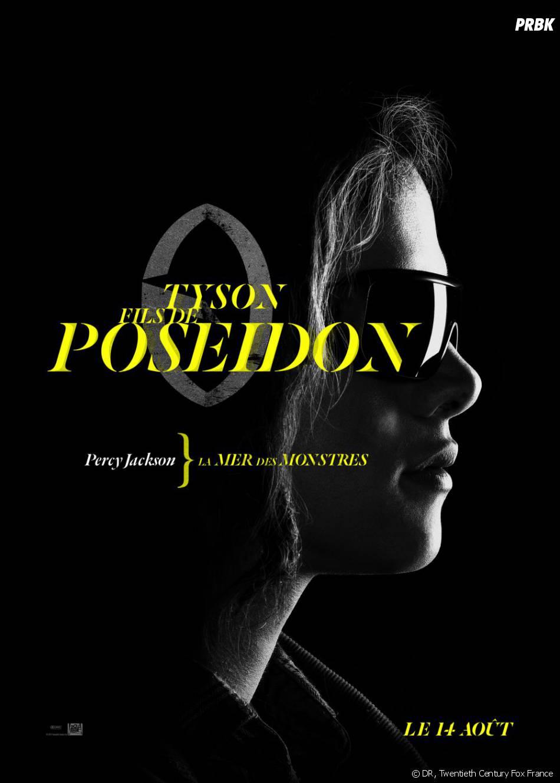 L'affiche-personnage de Tyson pour Percy Jackson : La Mer des Monstres