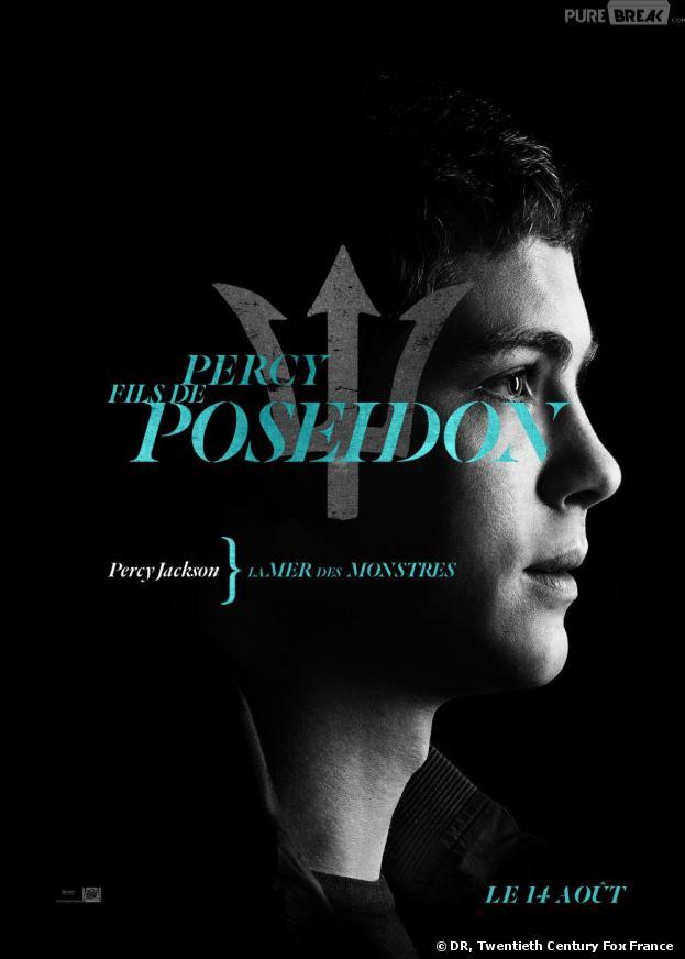 L'affiche-personnage de Percy pour Percy Jackson : La Mer des Monstres