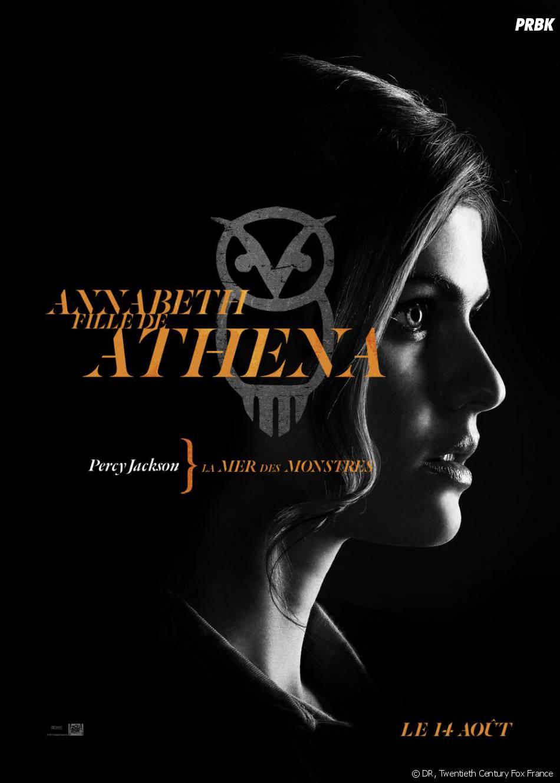 L'affiche-personnage d'Annabeth pour Percy Jackson : La Mer des Monstres