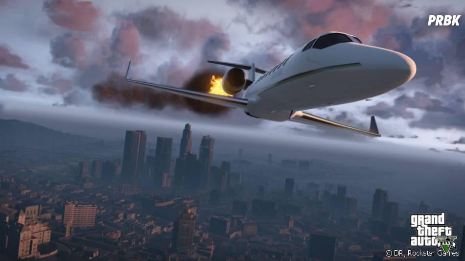 GTA 5 : parmi les véhicules du jeu, on retrouvera un jet