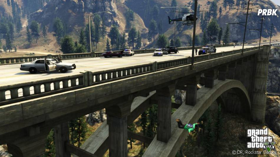 GTA 5 : il sera aussi possible de faire du base jump
