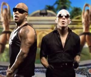 Flo Rida ft. Pitbull - Can't believe it, le clip